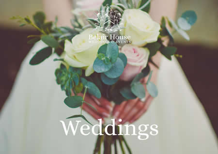 Wedding brochure Belair House Dulwich