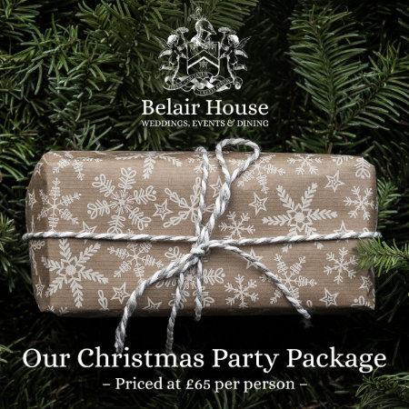 Christmas brochure Belair House Dulwich